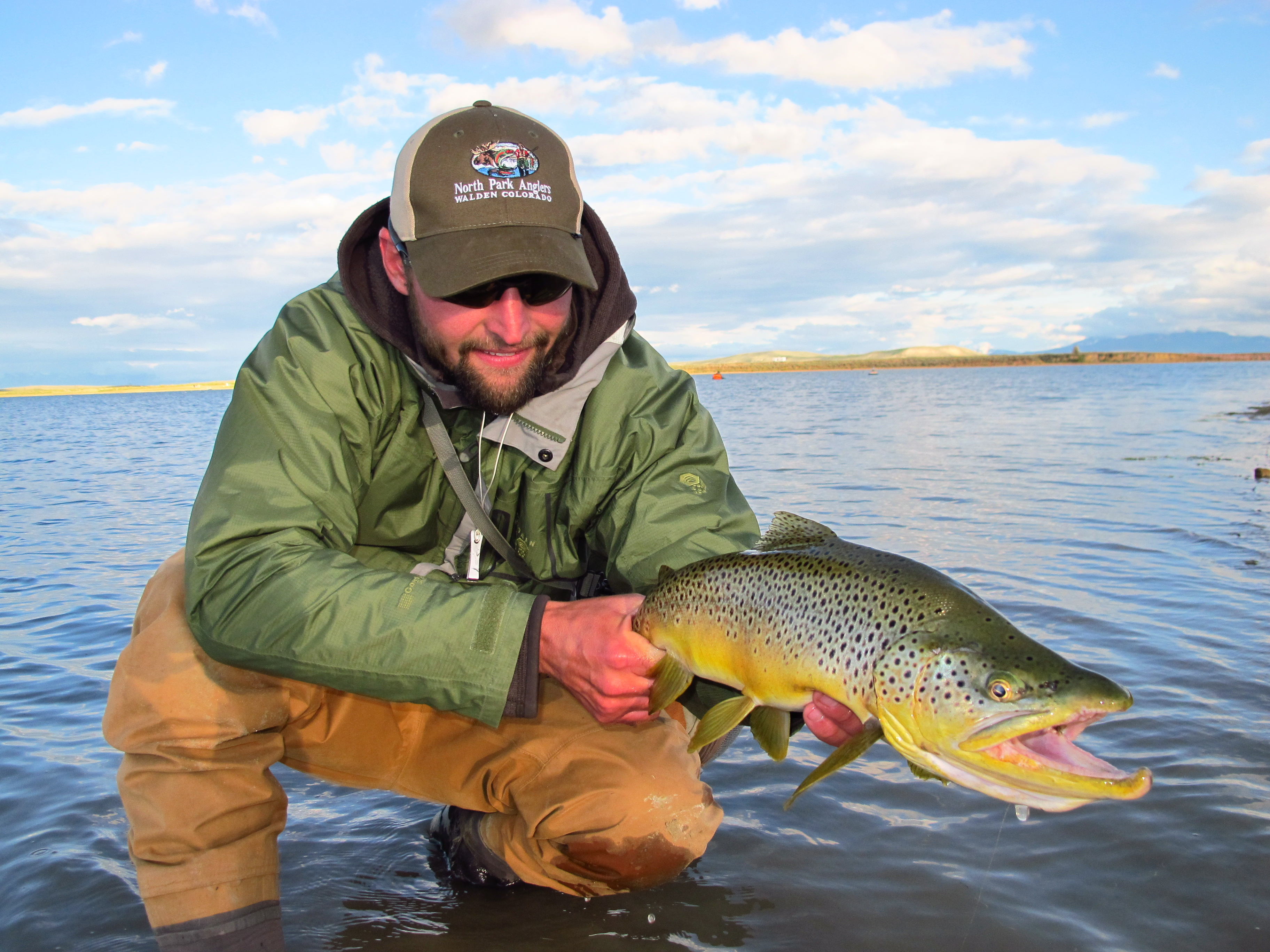 Lake trout colorado outdoors online for Ice fishing for trout