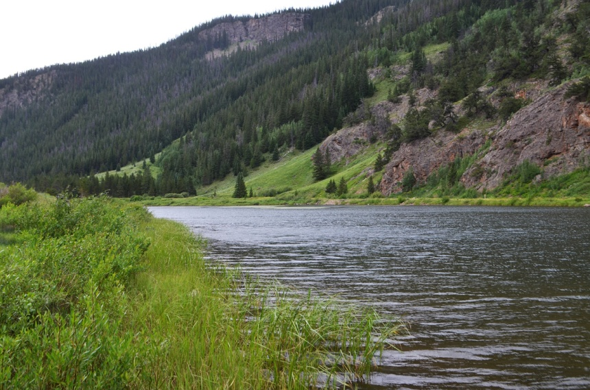 Curtain Ponds east of Copper Mountain offer great opportunities for trout fishing.
