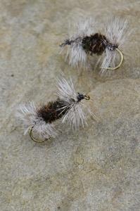 Handtied Gray Ugly flies.