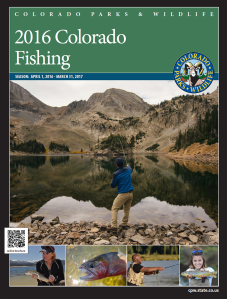 Ice out trout colorado s top springtime fishing for Colorado out of state fishing license