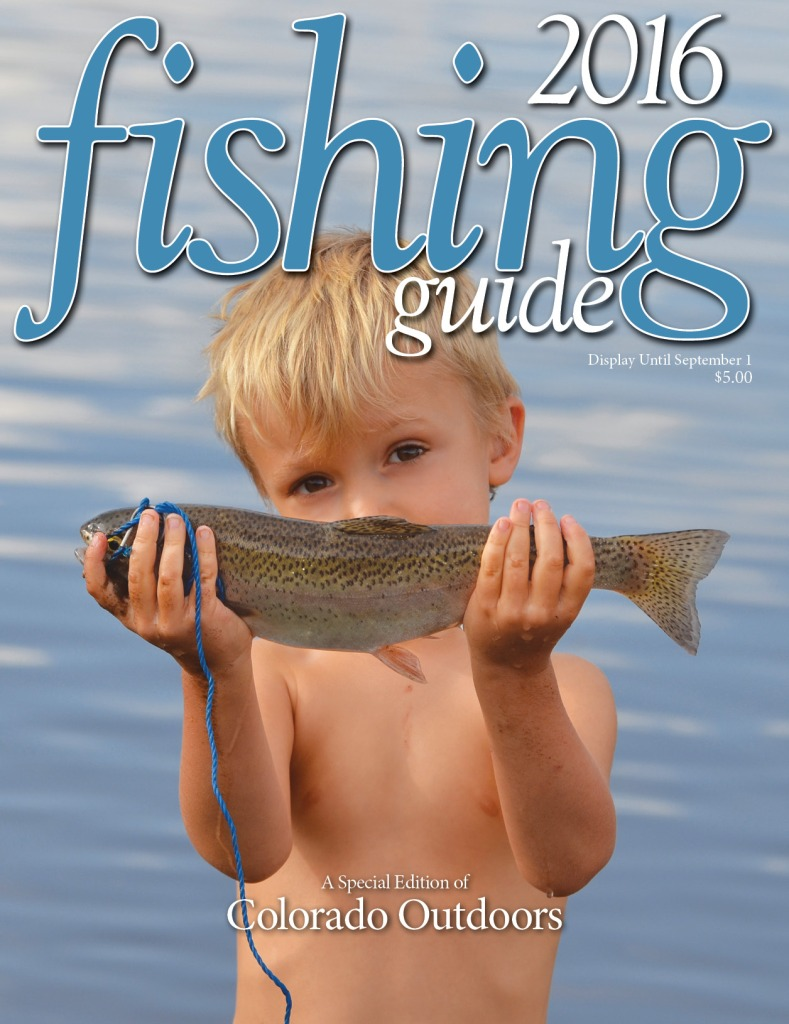 2016 Fishing Guide cover